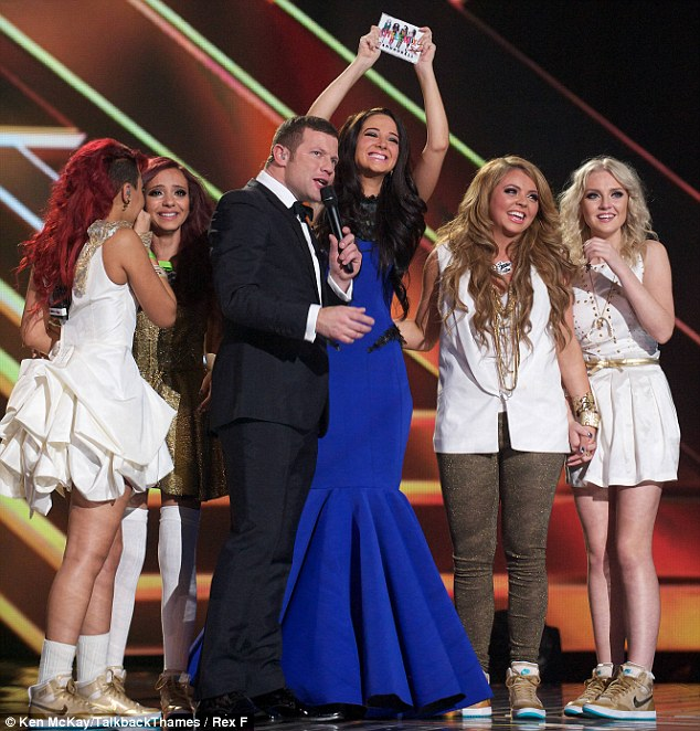 Champion: Tulisa is keen to mentor the Groups category once again after guiding last year's winners Little Mix to success