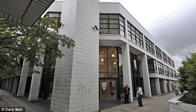 'Barely punished': Curran, a police officer, was handed 250 hours community service after pleading guilty to bigamy at Runcorn Magistrates' Court, pictured. Lisa said 'he's barely been punished'