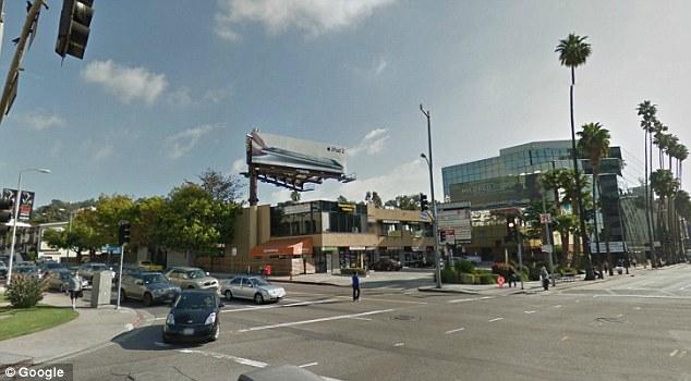Corner of Hollywood Blvd and LA Brea