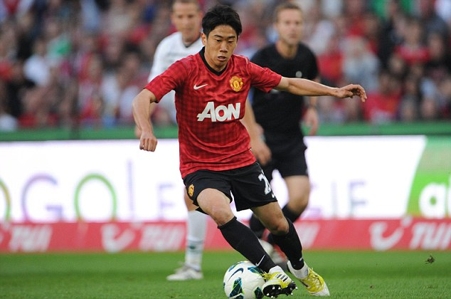 New signing: But Kagawa won't provide the steal at the heart of United's midfield