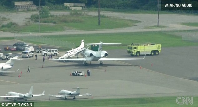 Repair bill: Aviation experts say that the accident likely caused more than $100,000 in damage