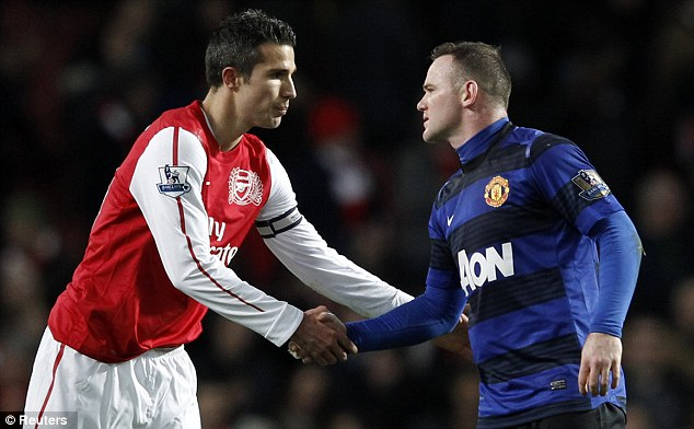 You've got to hand it to them: Van Persie and Rooney will lead United's attack this season