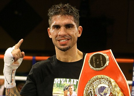 Tough test: Molitor is a two-time world champion at super bantamweight