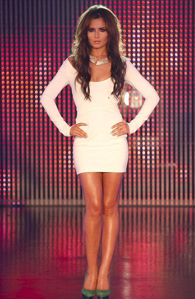 Family ties: Related to Cheryl Cole? Bingo! ¿ Her 21-year-old niece Melissa Armstrong makes it through to perform in front of the judges this year, albeit only to be rejected.