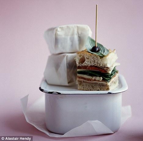 Italian steak sandwich