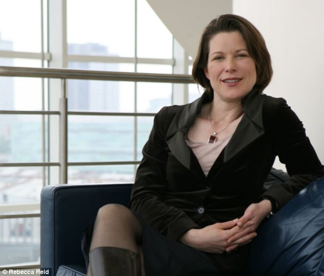 Singled out: Stephanie Flanders, the BBC's influential economics editor, was accused of 'peeing all over British business' by Iain Duncan Smith