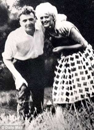 Murderous couple: Ian Brady and Myra Hindley. Jackie Powell's house in South Wales (right) was searched yesterday by police looking for the letter