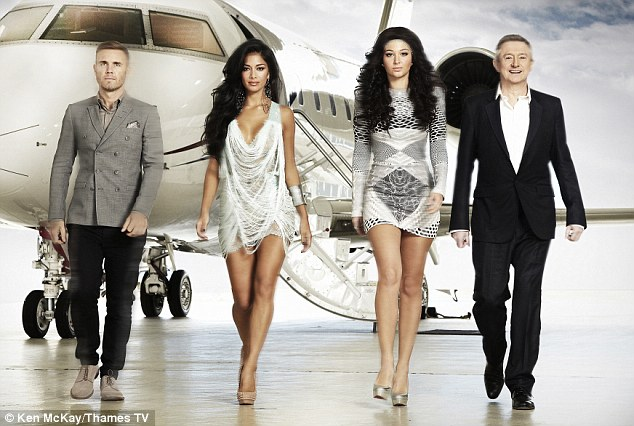 Desperate: Rough Copy took to their Twitter account to beg judges, Gary Barlow and Tulisa Contostavlos to reconsider the boys for the final stages of the competition