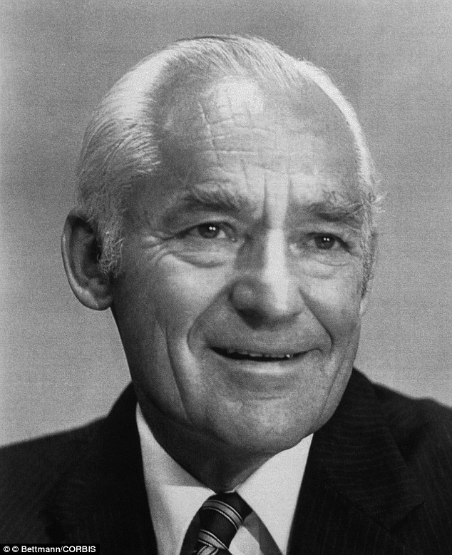 Sam Walton, founder of the Wal-Mart chain of discount stores in a picture from 1983
