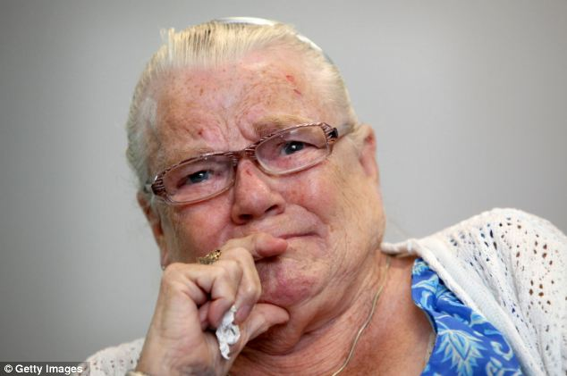 Tragic: Winnie Johnson never stopped her fight to find her son's body