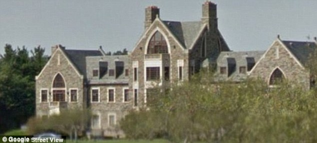 Palatial home: V.M. worked in the George family's more than 20,000-square-foot stone mansion called Llenroc, 15 miles northwest of Albany