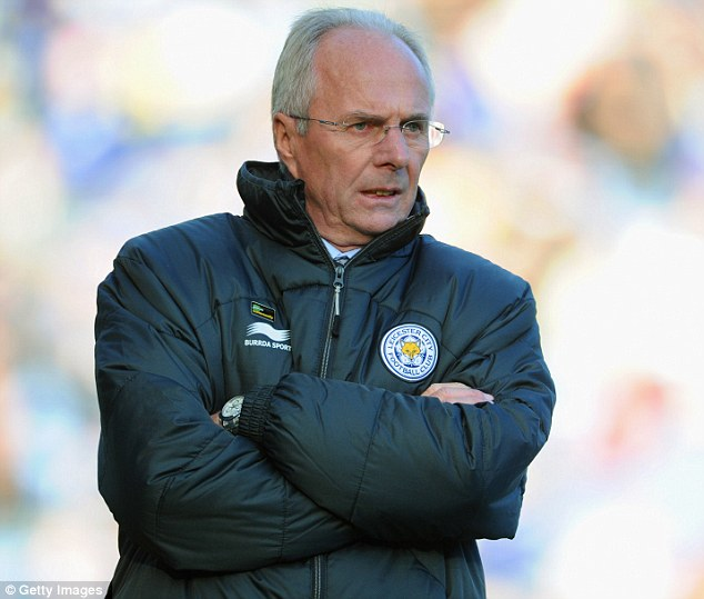History: Miss Ansari went on a series of dates with Eriksson in 2007 - shortly after he left as England coach to become the new manager of Manchester City