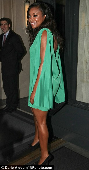 Think Like A Man: La La Vasquez and Gabrielle Union were spotted in New York City attending wedding celebrations