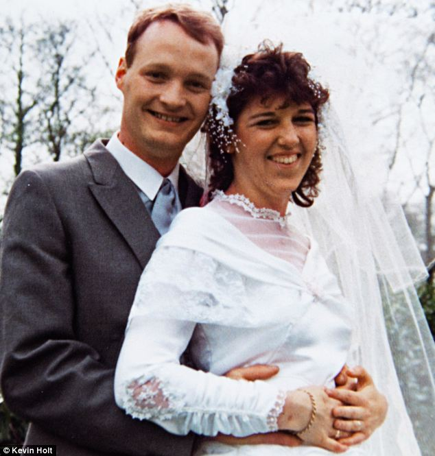 Betrayed: Lisa Curran, here with Martin on their wedding day in 1987, discovered that her husband of 25 years had secretly wed another woman. He pleaded guilty to bigamy