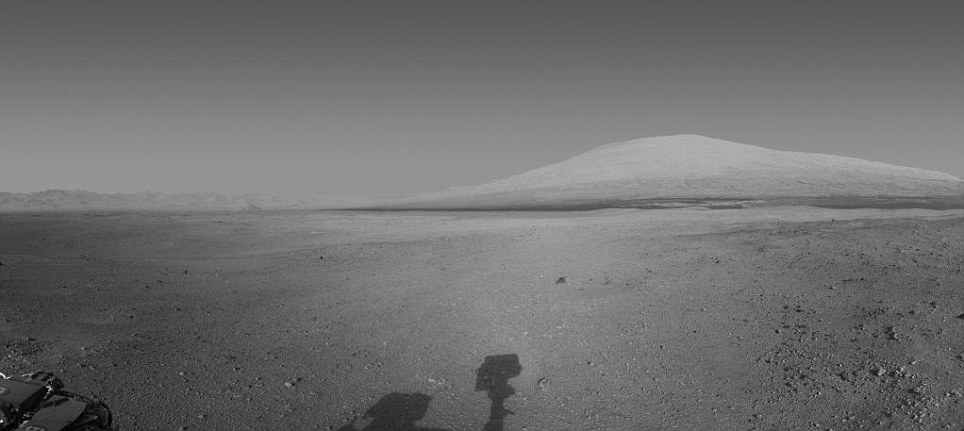 Curiosity rover has also sent back its sharpest image of the 3-mile-high (5-kilometer-high) mountain, called Mount Sharp