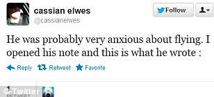 Cassian Elwes tweeted more than 50 times on the topic