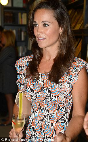Pippa's own book, a party planning guide called Celebrate, is due to be released in October