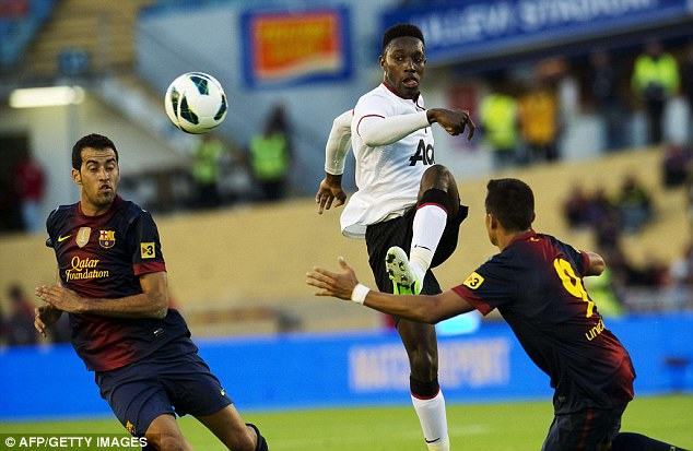 Established: Welbeck was a first a first team regular with United last season after a loan spell with Sunderland