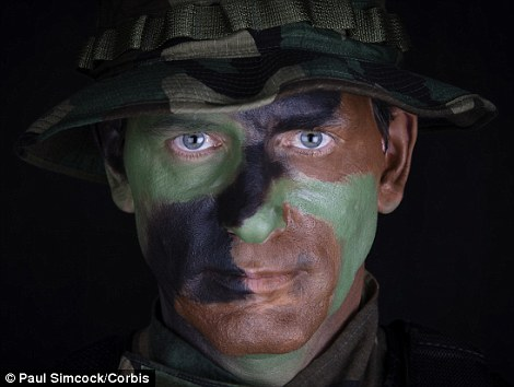 In the near future, camouflage paint could do a lot more than help soldiers hide from their enemies - it could even protect them from bomb blasts