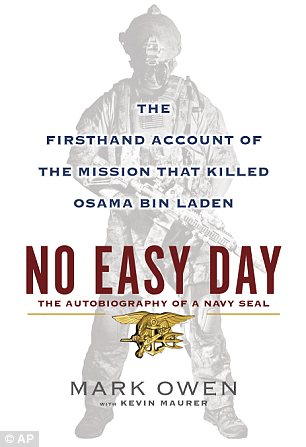 Cover: No Easy Day is scheduled for release on September 4