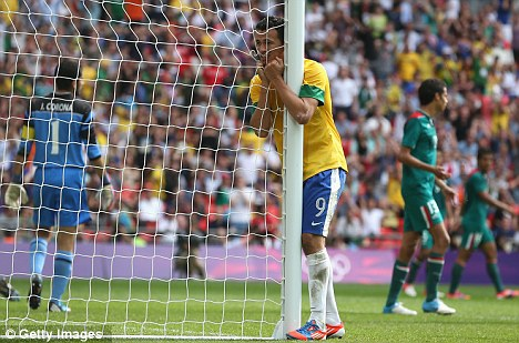 Net gains: Leandro Damiao is finally closing on a move to Tottenham