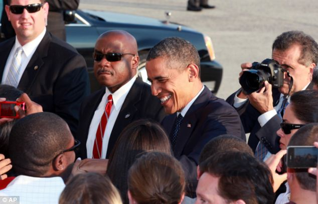 President Obama, who was all smiles yesterday as he arrived at JFK Airport in New York yesterday, ought to be worried about the forecast as the computer model has predicted the correct outcome of the Electoral College selection since 1980