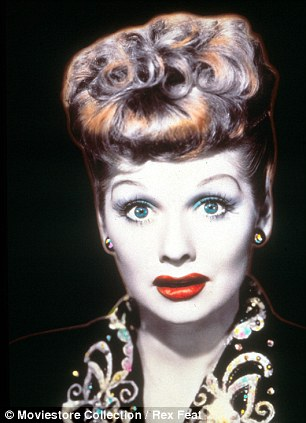 The late great: Lucille Ball was an American comic known for her sitcom I Love Lucy