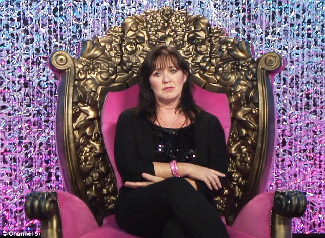 Awkward: Former Loose Women panellist Coleen Nolan is also up for eviction