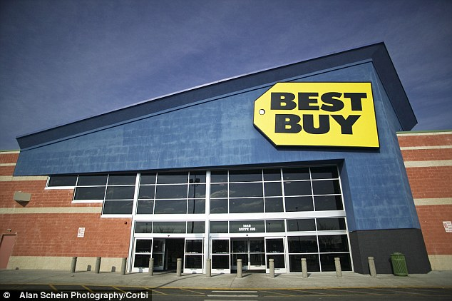 Struggling: Best Buy's stocks have been weak in past weeks after Former CEO Brian Dunn resigned amid an investigation into his relationship with a 29-year-old employee