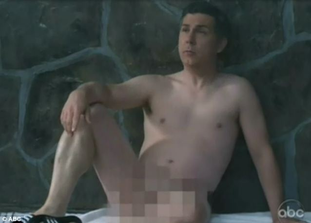 Network Nudity: The study, which cited this scene from a January episode of Suburgatory, focused on the prime-time lineups of the five major networks, or NBC, CBS, ABC, FOX, and the CW.