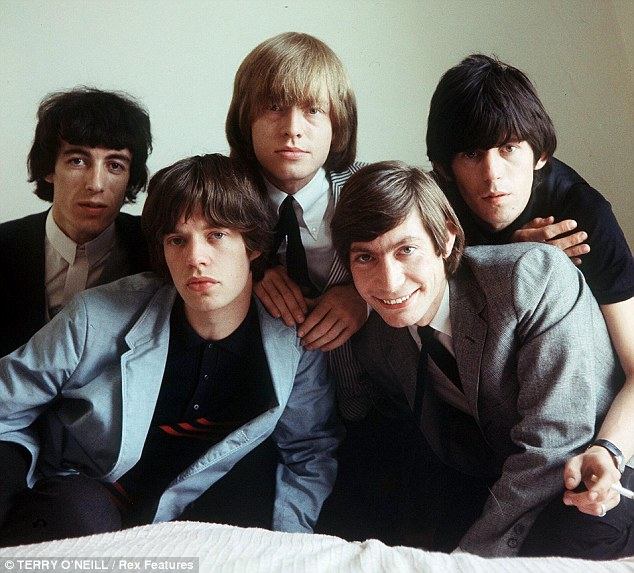 And how they were... The original line up of the band included the late Brian Jones who died in 1969