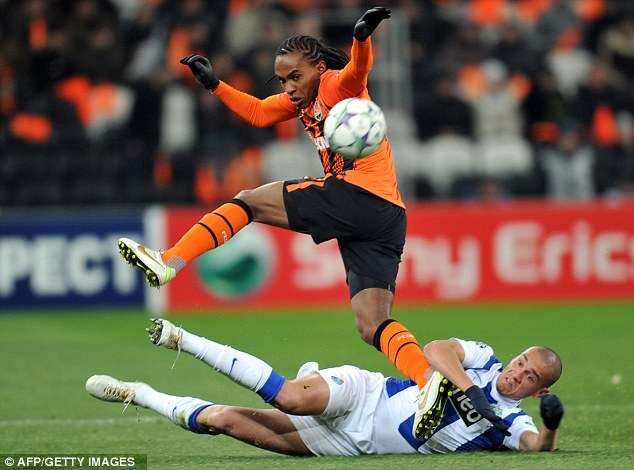 Wanted man: Tottenham are keen on signing the Shakhtar midfielder