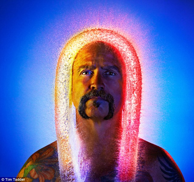 'The Jesus': Tim Tadder wanted to see what bald men would look like with water for hair