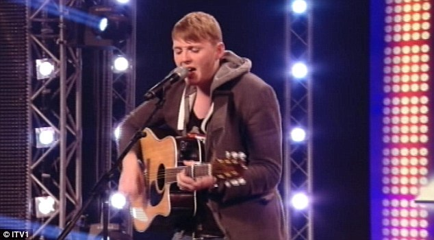Guitar skills: He showed off an acoustic version of the dance track, much to Tulisa's delight