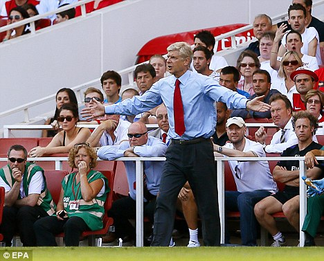 Splash the cash: Wenger could make further additions to the Arsenal team