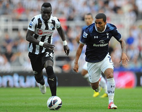 Wanted man: Tiote is being tracked by the Gunners