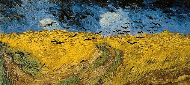 Closer to Van Gogh's vision - or a less accurate portrayal of his Wheat Field under Threatening Skies