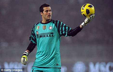 Incoming: Julio Cesar is set to complete his move to QPR