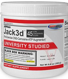 Banned: Jack3d contains a stimulant called DMAA