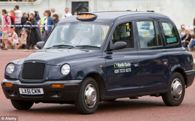 Fare dues: The London 'Black Cabbie' taxi just made it into the top ten