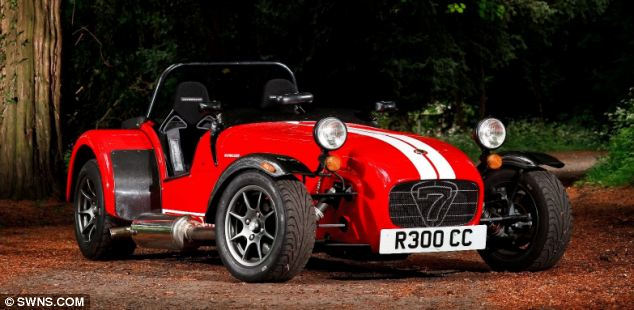 Unexpected: The Caterham Seven, which coincidentally came seventh, was a surprise entry on the list