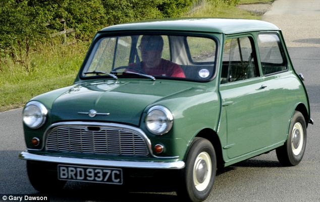 Winner: The Original 1960's Mini Cooper was voted the greatest car ever to be built and assembled in Britain