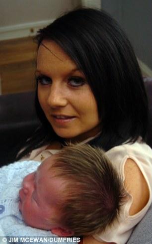Newborn Baby Mitchell McKay