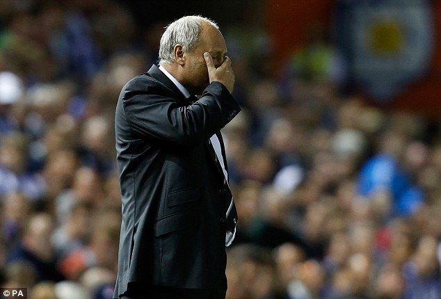 Don't look now: Things did not go Martin Jol's way on Tuesday