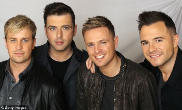 The schoolgirl was returning from a Westlife concert in London when she was attacked. She was saved by using the programme she had bought as a shield