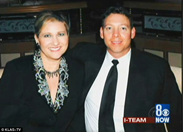 Murdered mother: Lawmaker, Kathy Augustine, left, was murdered in her Reno home in 2006 by husband Chaz Higgs, right