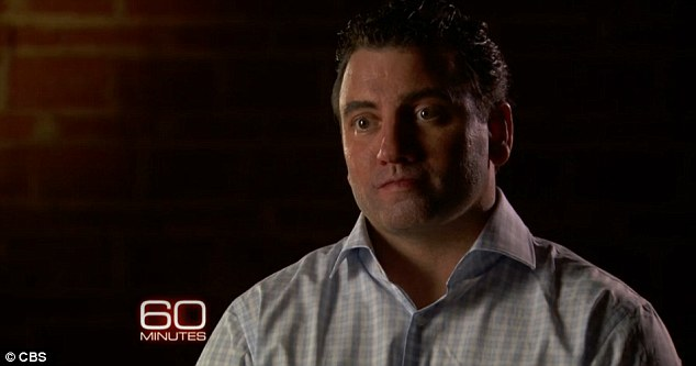 Speaking out: Former Navy SEAL Matt Bissonnette appeared on US TV show 60 Minutes this week to discuss his book