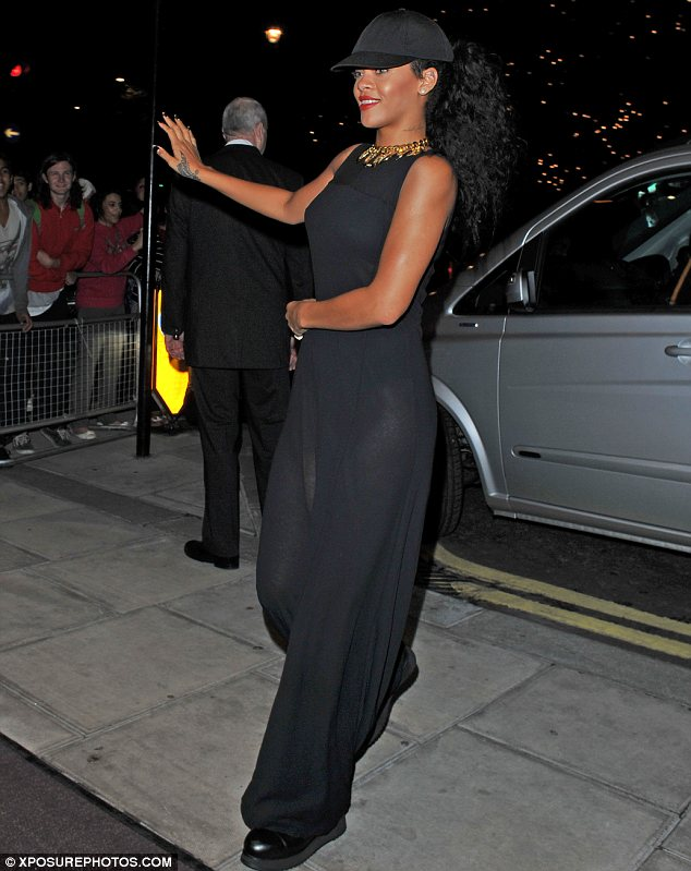 Unfashionable flop: Rihanna's highly publicised Styled To Rock TV show for channel Sky Living has slumped in the ratings