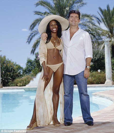 Call me Captain Hero: The drama was revealed on Twitter by Cowell's ex-girlfriend, pop star Sinitta, 43, who is on holiday with the multi-millionaire