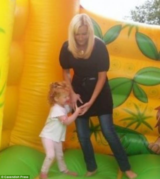 Together: Makin playing with Chloe on a bouncy castle before she killed her and tired to commit suicide